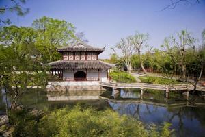 China, Suzhou, de eenvoudige tuin van de beheerder foto