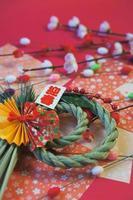 het is een nieuwjaarsfoto van japan. foto