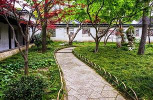 nederige tuin van de beheerder (zhuozheng) foto