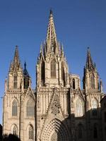 seu kathedraal van barcelona foto