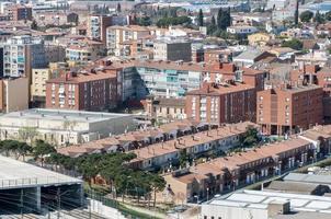 Barcelona Montmelo dorp foto