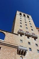 Abdij van Santa Maria de Montserrat, Catalonië, Spanje foto