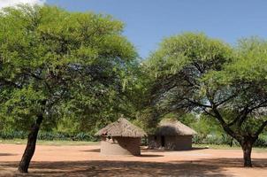 afrika dorp foto