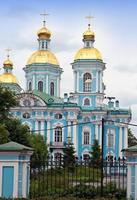 st. de marinekathedraal van nicholas. Petersburg. Rusland foto