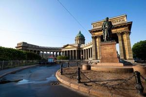 Kazan kathedraal, st. Petersburg, Rusland foto