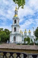 Kryukov-kanaal. st. kathedraal van Nicholas. foto