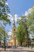 peter en paul kathedraal in peter en paul fort