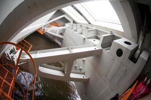 complex voor overstromingspreventie in Sint-Petersburg foto