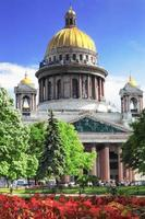 Saint Isaac's Cathedral in Sint-Petersburg foto