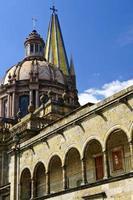 Kathedraal van Guadalajara in Jalisco, Mexico foto
