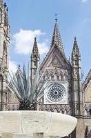toeristische monumenten van de stad guadalajara foto
