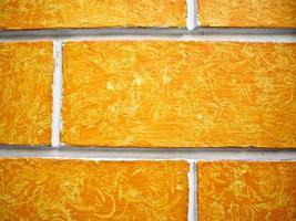 oranje muur foto