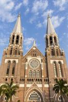 kathedraal van Saint Mary. yangon. Myanmar. foto