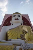 grote Boeddha in bago myanmar foto