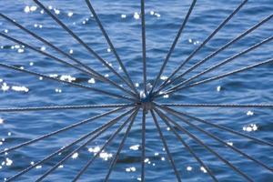 decoratieve nautische knoop foto