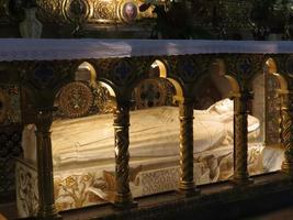 heilige catherine sarcofaag foto