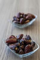 datum, traditioneel ramadan fruit foto