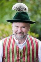 portret van een Beierse man foto
