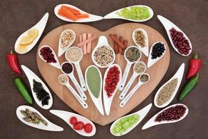 gezond gewichtsverlies voedsel foto