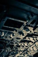 vliegtuig bedieningspaneel foto