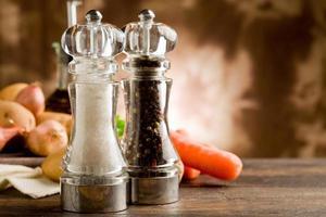 zout- en pepermolen foto