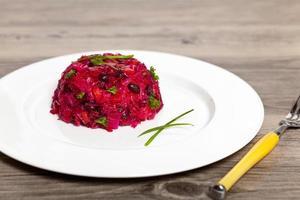 bietensalade. groentesalade. foto