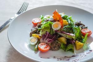 smakelijke salade foto