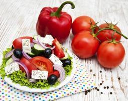 verse Griekse salade