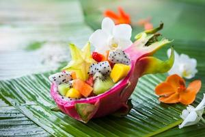 exotische fruitsalade
