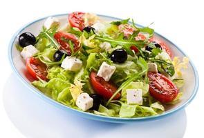 Griekse salade foto