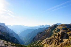 alpine landschap foto