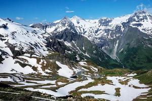 landschap Alpen foto