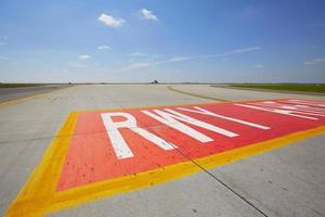 landingsbaan foto