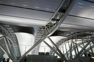 architectuur op de luchthaven foto