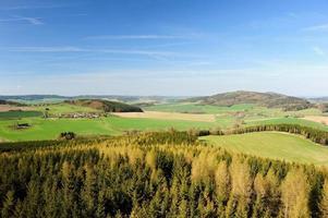prachtige lente landschap foto