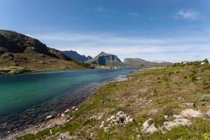 noors landschap. foto