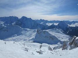 winter natuur landschap foto