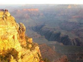 grand canyon landschap foto