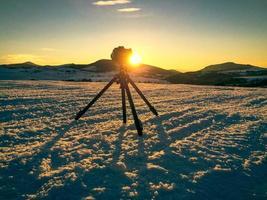 Mountin landschap schieten foto