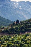 landschap van Noord-Griekenland foto