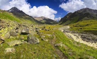 panoramisch landschap