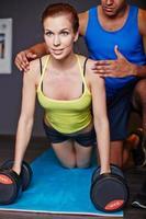 training in de sportschool
