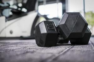 gym gewichten foto