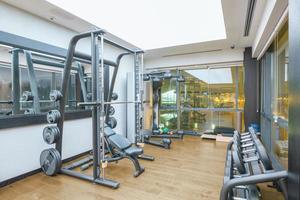sportschool interieur foto
