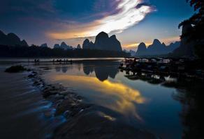 guilin landschap foto