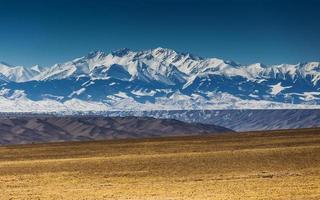 landschap in de buurt van Alma-Ata, Kazachstan