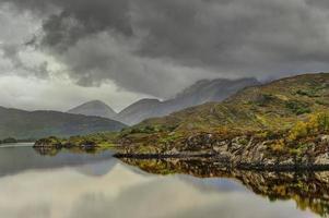 het Ierse landschap, Ierland foto