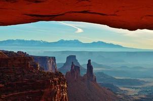 zuidwesten woestijnlandschap foto