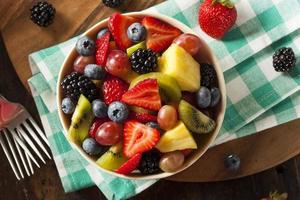 gezonde biologische fruitsalade