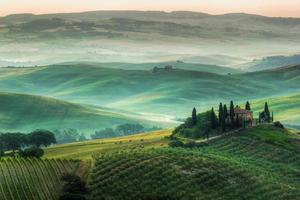 het Toscaanse landschap